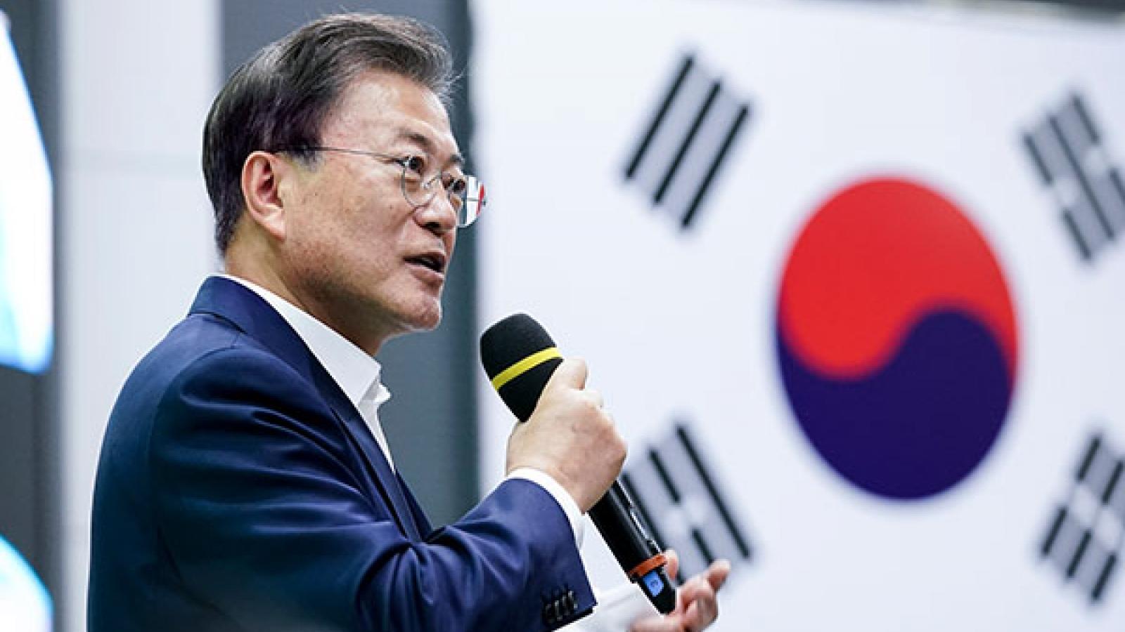 Tổng thống Hàn Quốc công du châu Âu