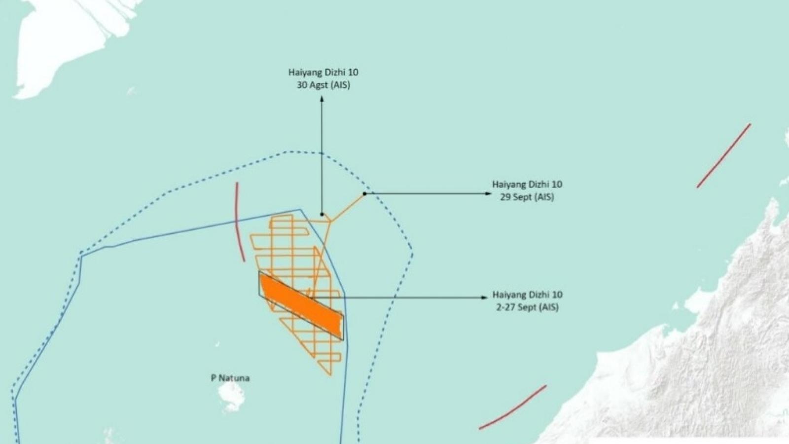 Indonesia phản ứng trước hoạt động đáng ngờ của tàu khảo sát Trung Quốc