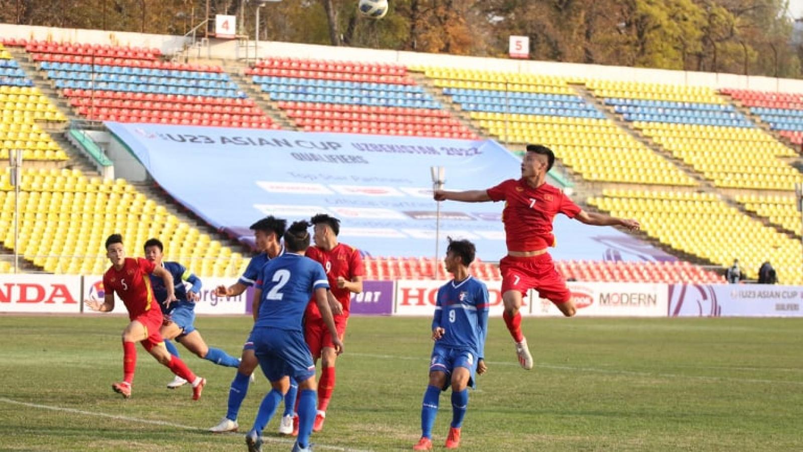Lê Văn Xuân ghi bàn, U23 Việt Nam thắng nhọc U23 Đài Bắc Trung Hoa