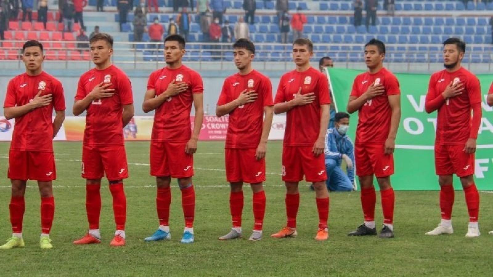 U23 Kyrgyzstan - đối thủ của U23 Việt Nam có gì đặc biệt?