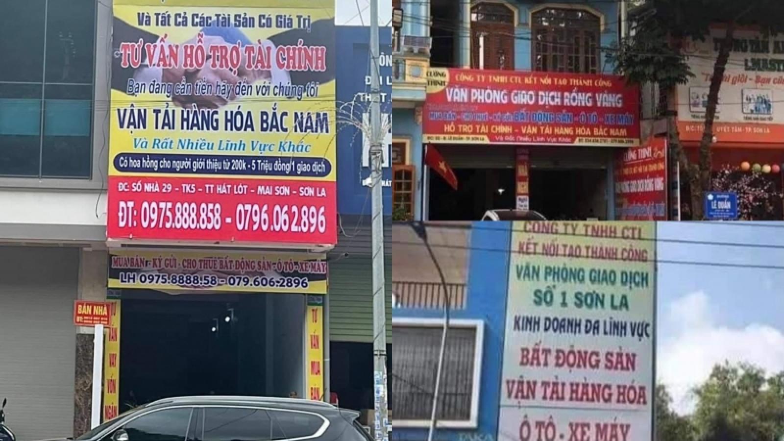 Khởi tố cặp vợ chồng cho vay nặng lãi ở Sơn La