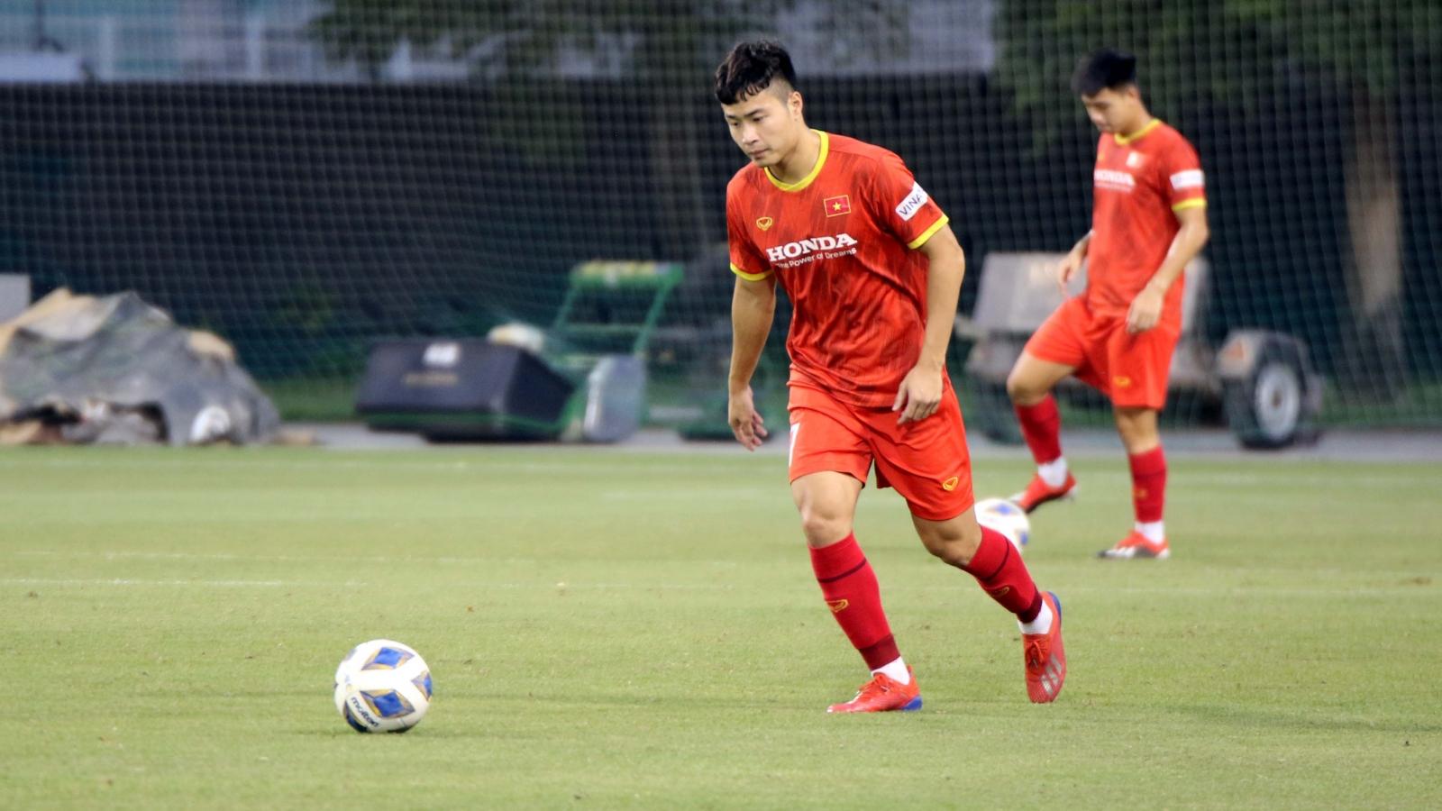 Đội trưởng Đặng Văn Tới nói gì về mục tiêu của U23 Việt Nam?