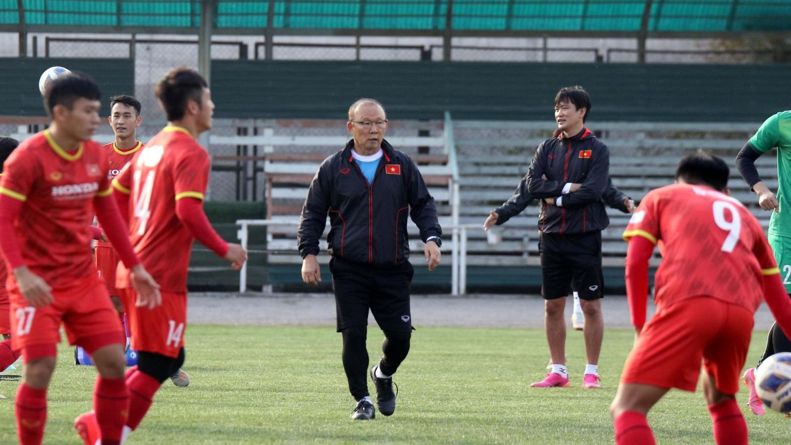 U23 Việt Nam vượt qua thử thách đầu tiên trên đất Kyrgyzstan