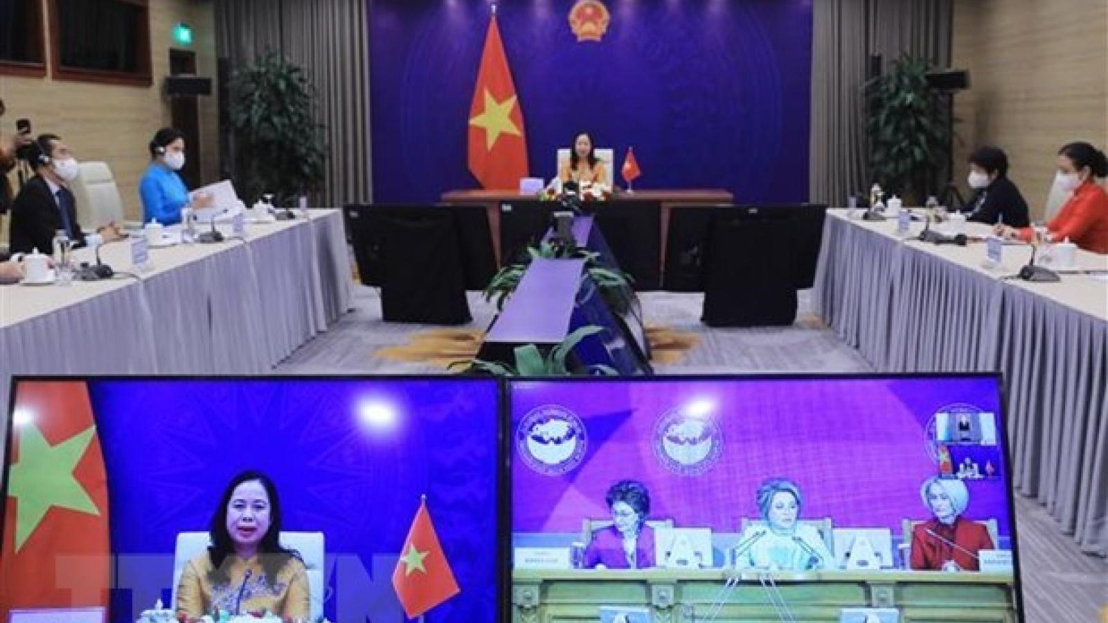 Vice President attends third Eurasian Women's Forum