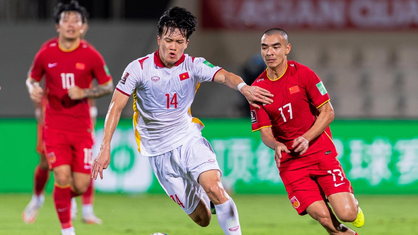 ĐT Việt Nam nhận lời động viên từ AFC trước trận gặp Oman