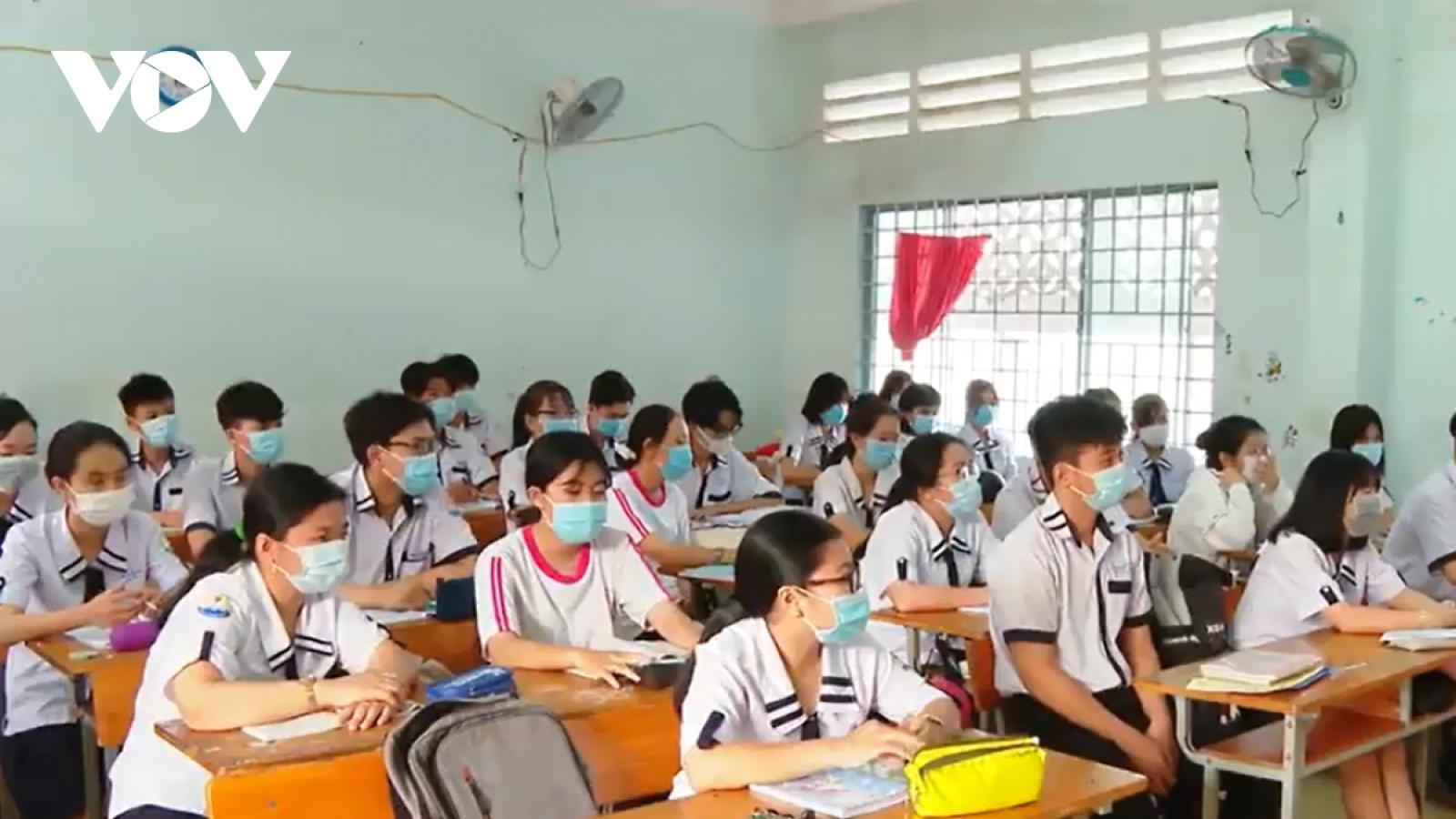 Kịch bản đón học sinh trở lại trường của 63 tỉnh, thành
