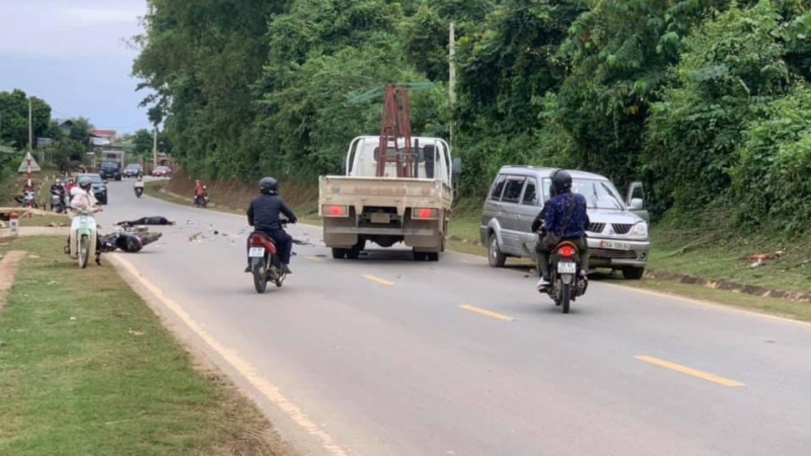 Tai nạn giao thôngtrên Quốc lộ 6, một người tử vong tại chỗ