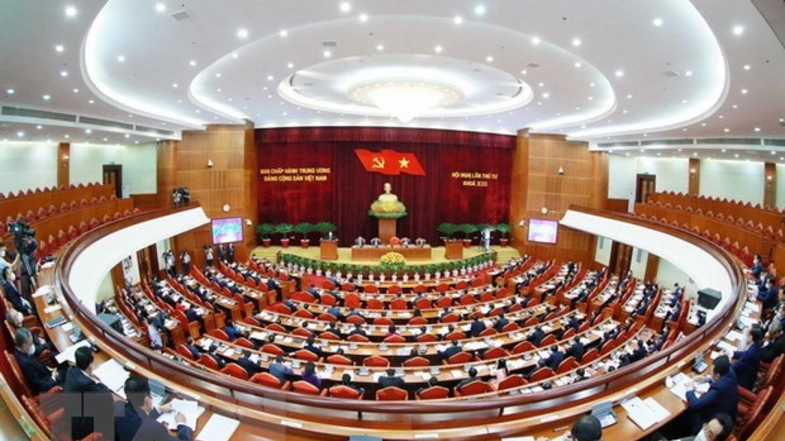Party Central Committee scrutinises socio-economic development plans