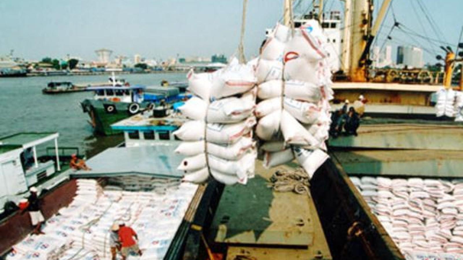 Vietnamese export rice price rises sharply again