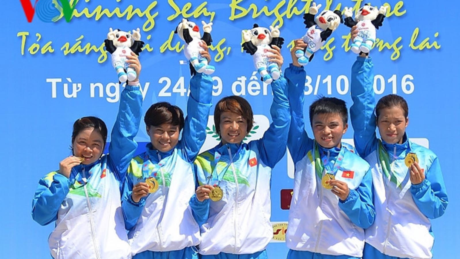 Vietnam sepak takraw team wins gold at ABG5