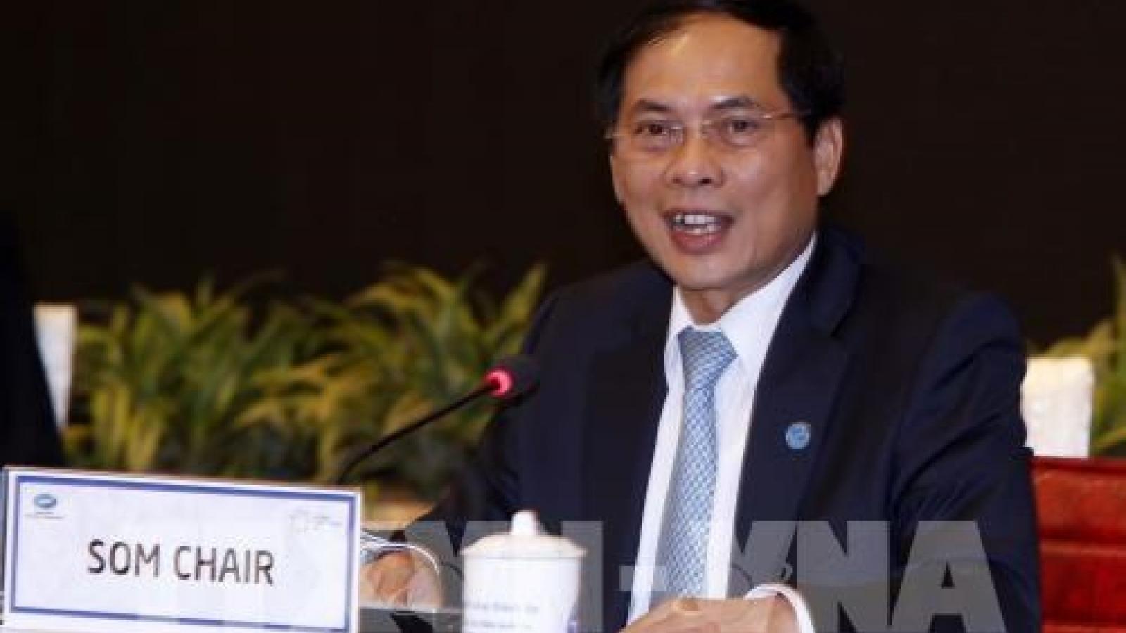 APEC SOM Chairman urges joint efforts to shape APEC's future