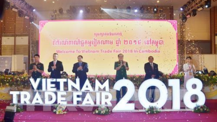 Vietnam Trade Fair 2018 opens in Cambodia