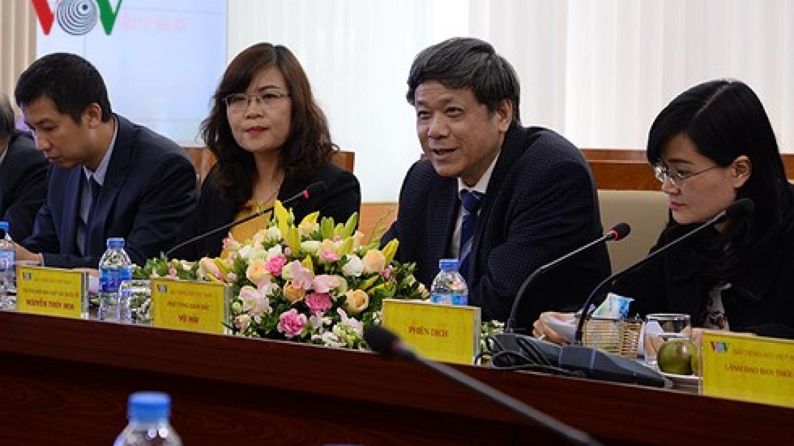 VOV, Guangxi Radio Station partner for TV programs