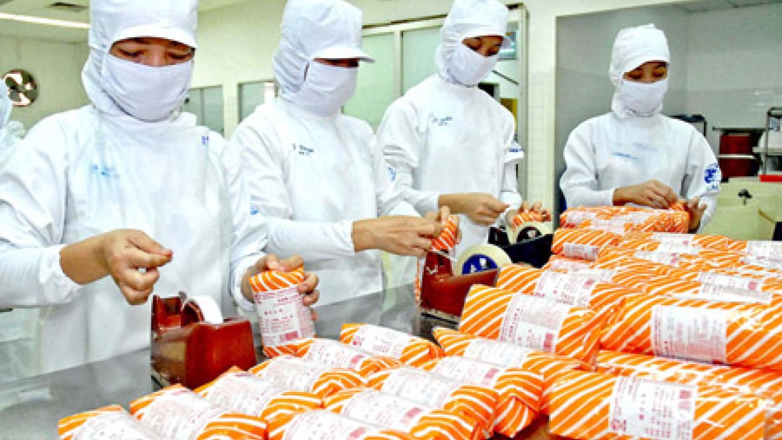 Food processing industry in Mekong Delta still not attracting investors