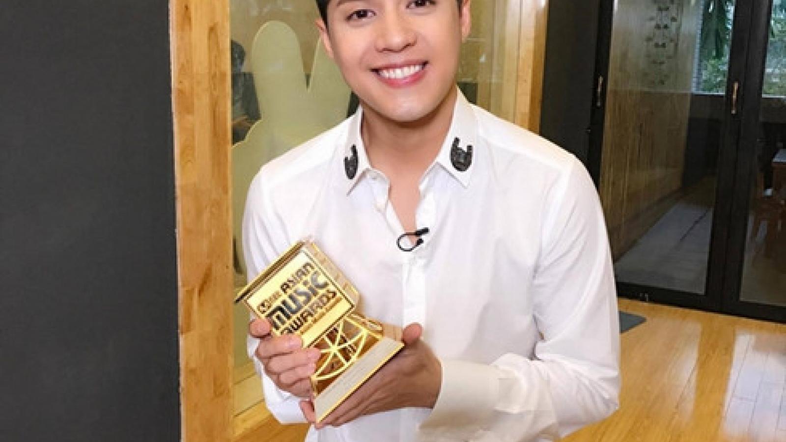 Phuoc Thinh wins big at Mnet Asian Music Awards