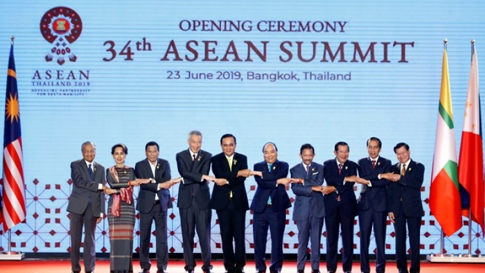34th ASEAN Summit opened in Bangkok