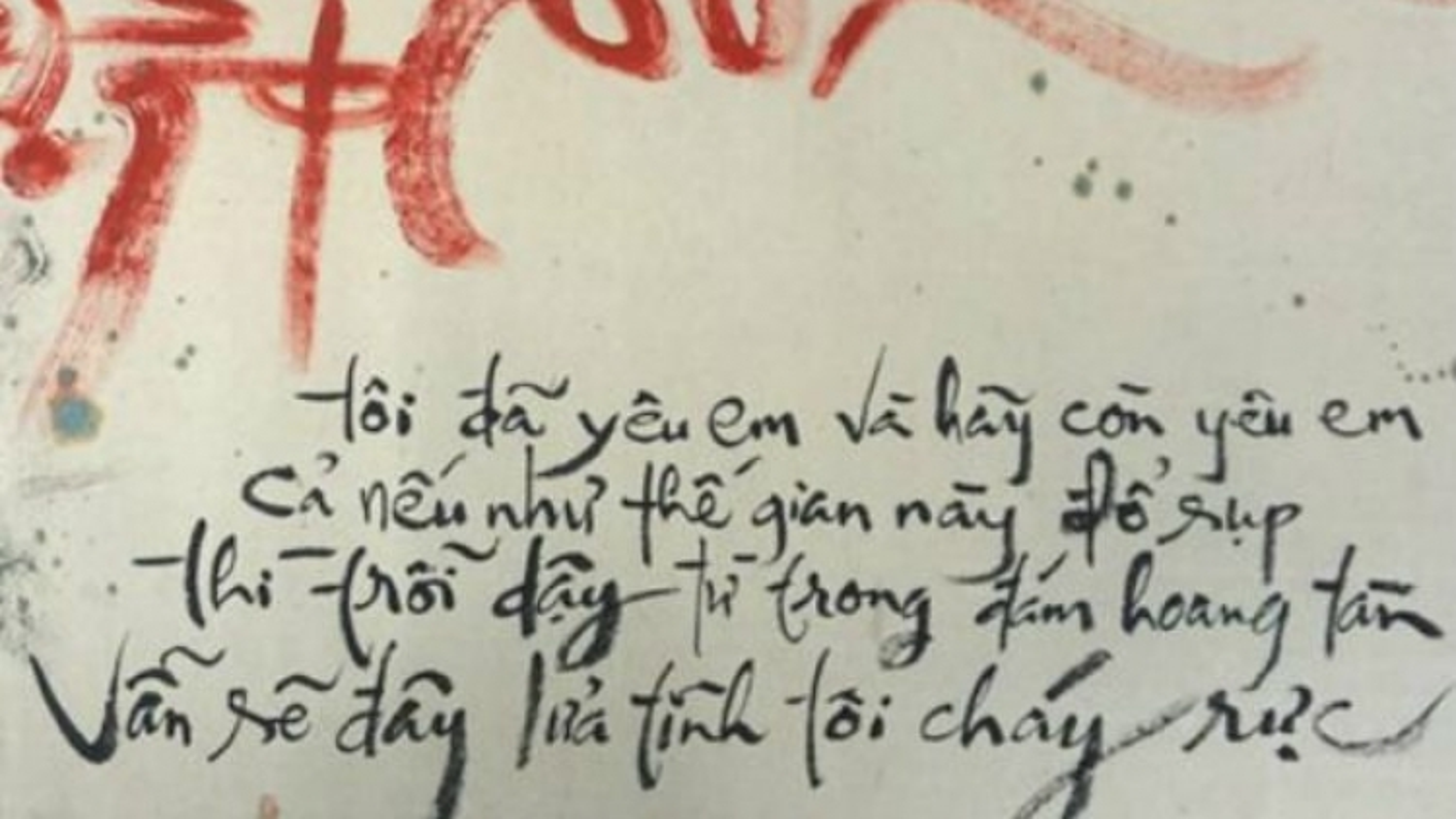 Exhibition combines German poetry and Vietnamese calligraphy