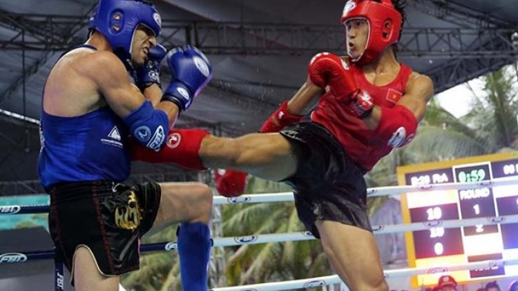 Muay Thai fighters strike gold at ABG5
