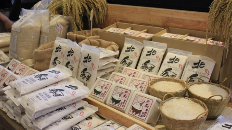 Japanese rice appears in HCM City
