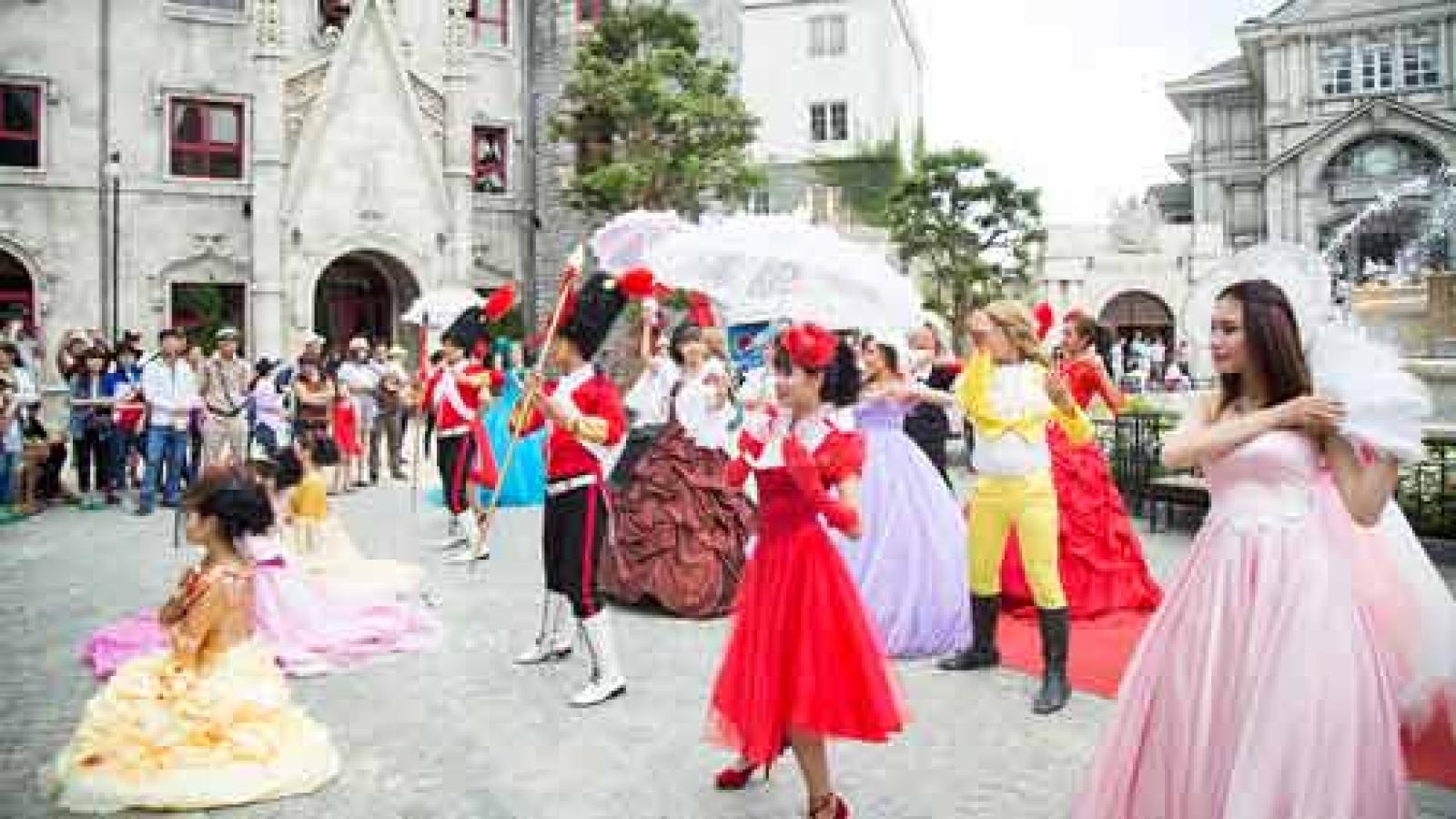 Ba Na Hills splendid with European colour festival