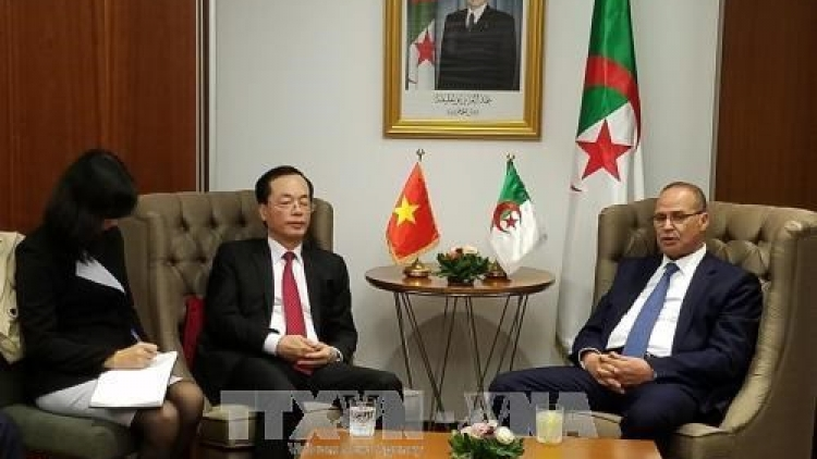 Vietnam, Algeria step up agro-fishery cooperation