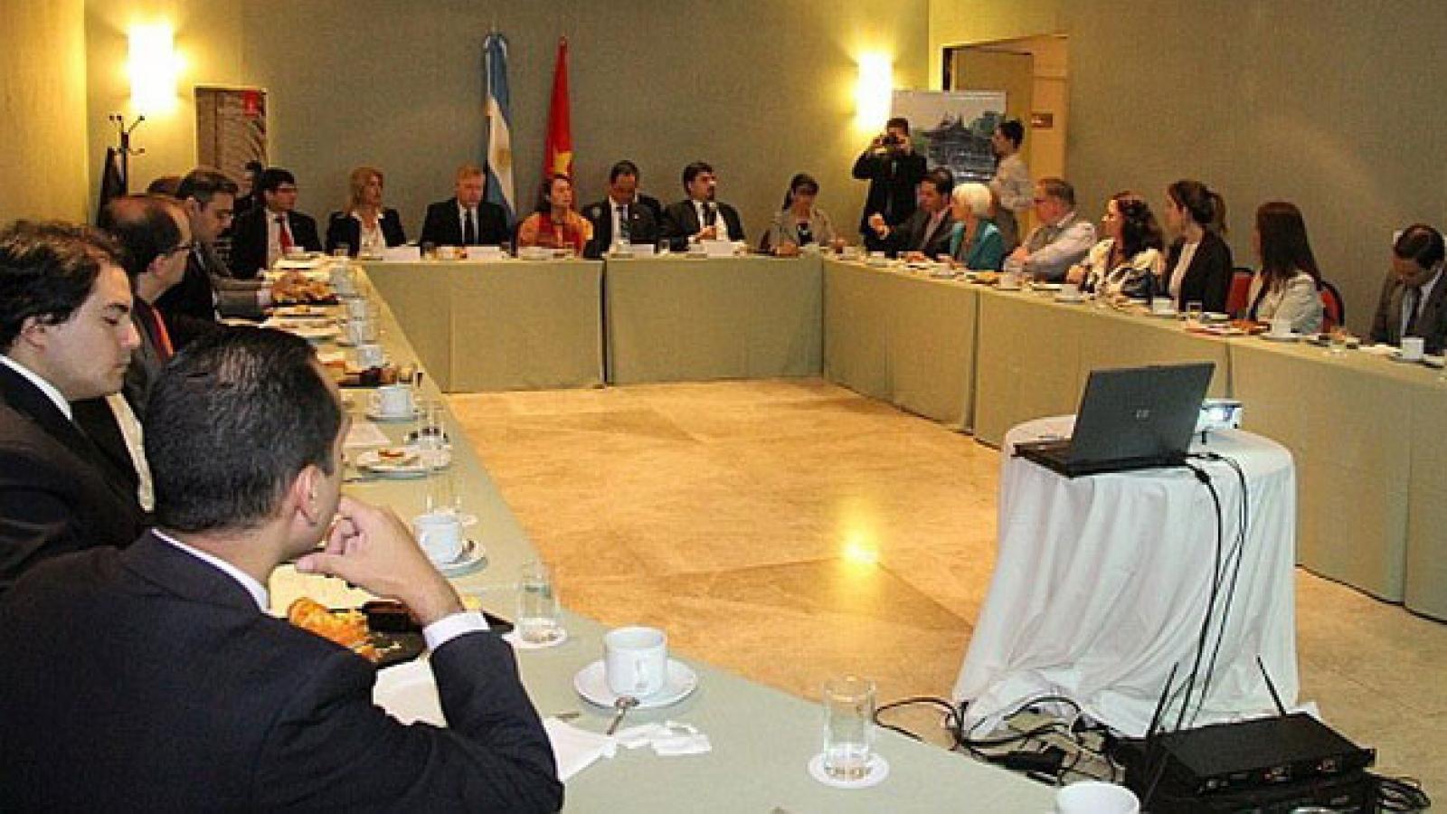 Vietnam, Argentina foster trade ties