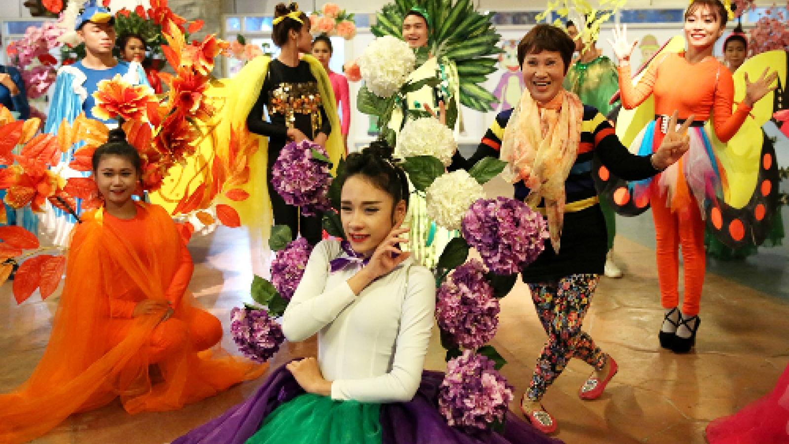 Ba Na Hill spring flower festival