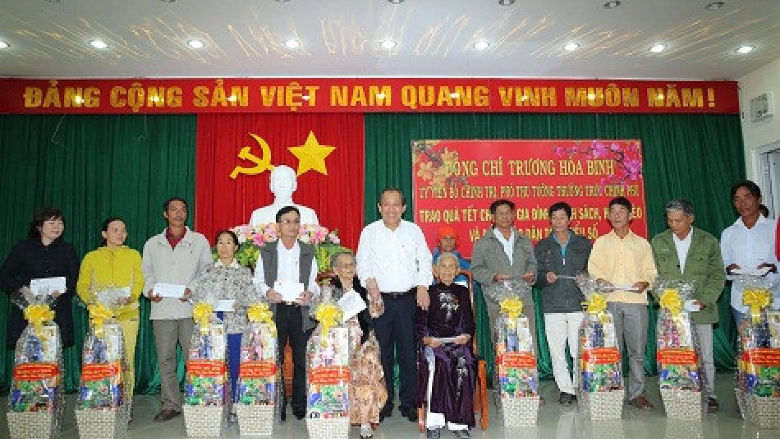 Deputy PM pays pre-Tet visit to Ninh Thuan