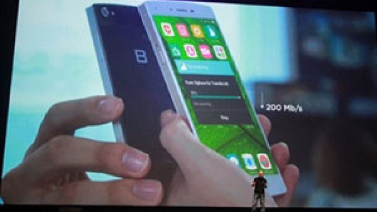 Smartphone maker looks to foreign markets for growth