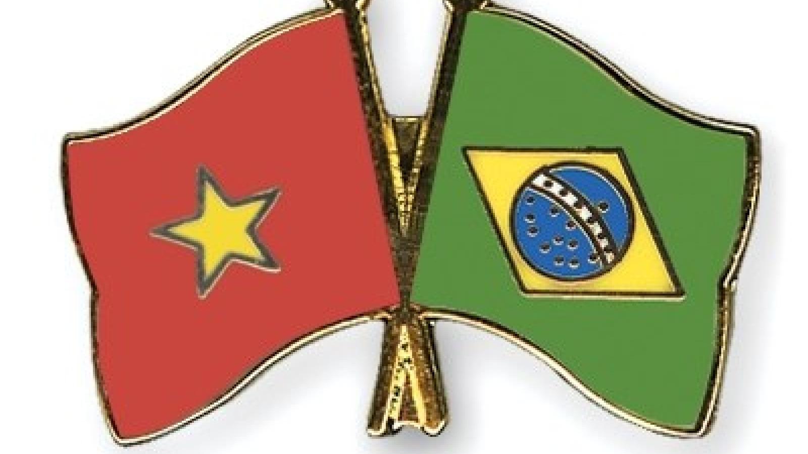 Brazil, Vietnam boost friendship