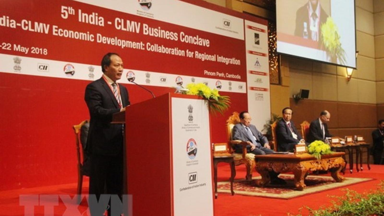 Vietnam attends India-CLMV trade conference in Cambodia
