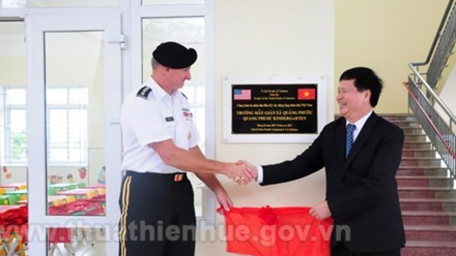 US helps Thua Thien-Hue build kindergarten school