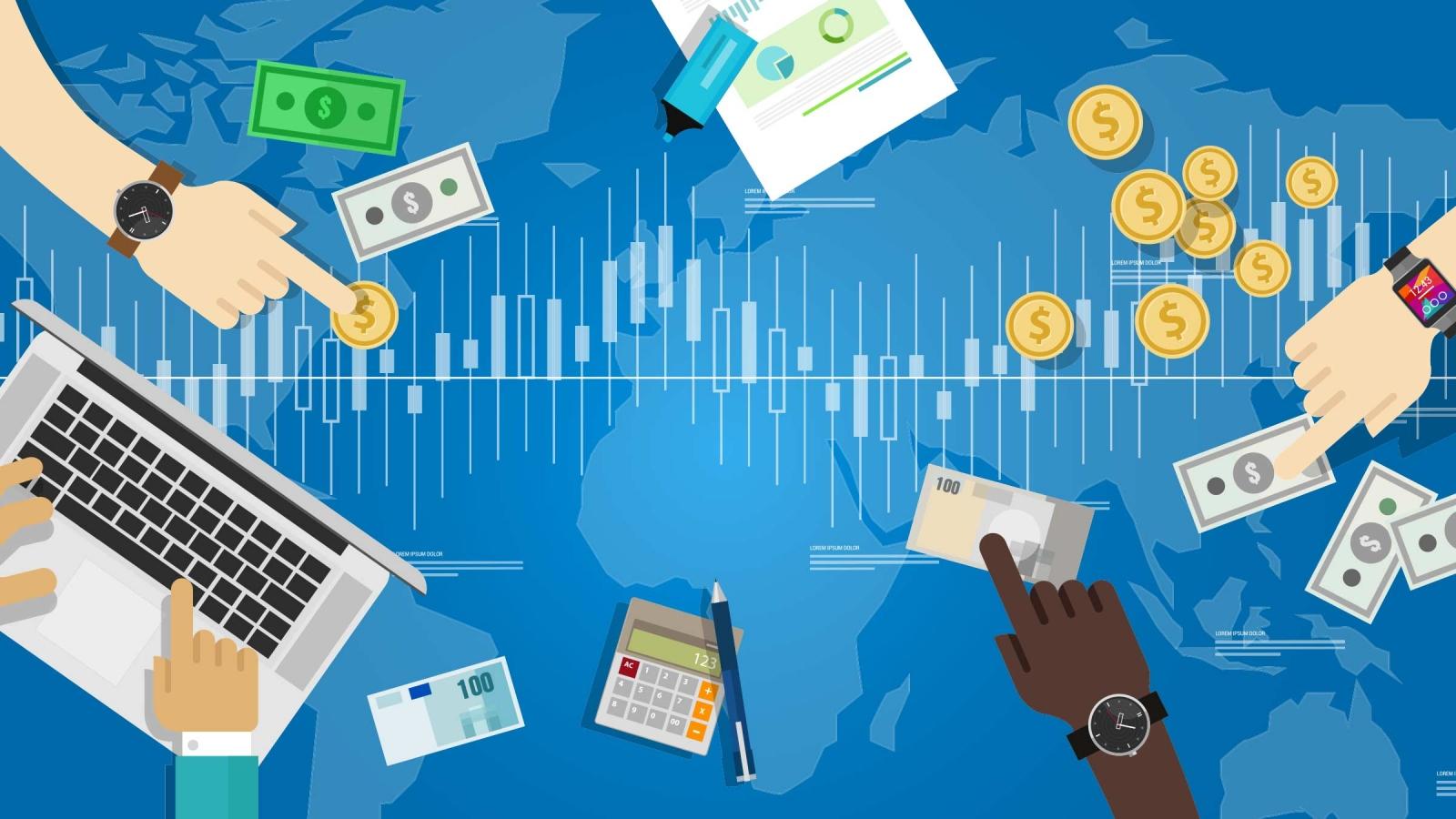 E-transaction market developed toward digital economy