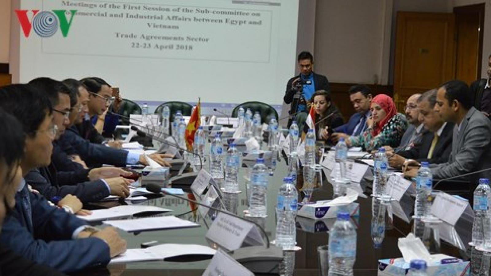 Vietnam, Egypt show determination to effectively realize trade deals