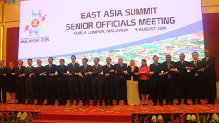 Deputy PM speaks to ASEAN+3, EAS and ARF events