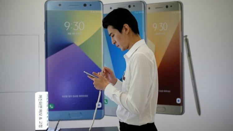 Samsung wants Vietnam to waive taxes for recalled Galaxy Note 7