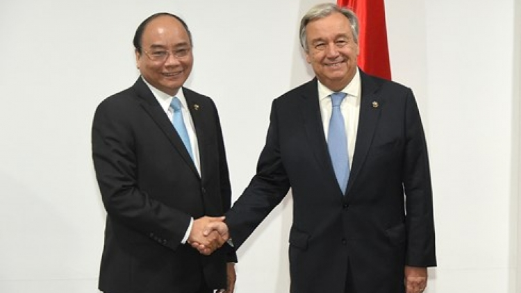 Prime Minister meets UN, EC leaders in Manila