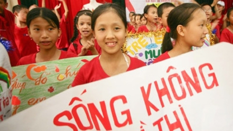 Vietnam's national plan of action for children affected by HIV
