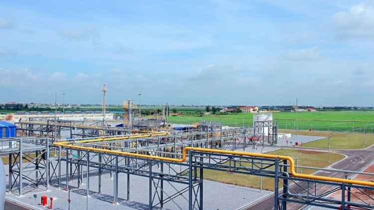Ham Rong-Thai Binh gas system reaches yearly target early
