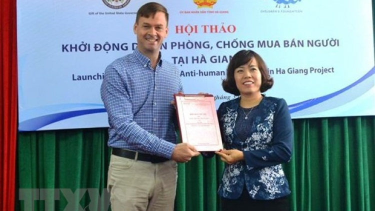Human trafficking prevention project launched in Ha Giang