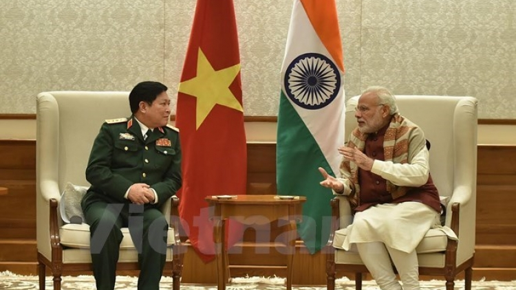 Defence Minister visits India, meets PM Modi