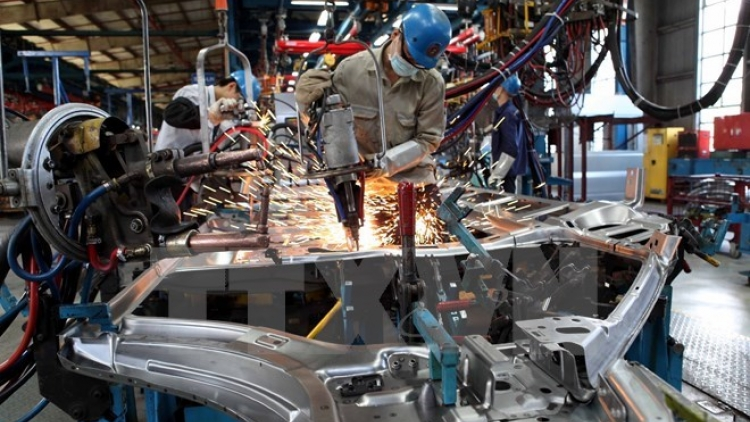 Industrial production index rises 15.2% in Jan-Feb