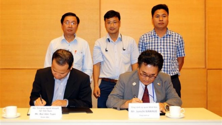 Japan provides non-refundable aid for six projects in Vietnam