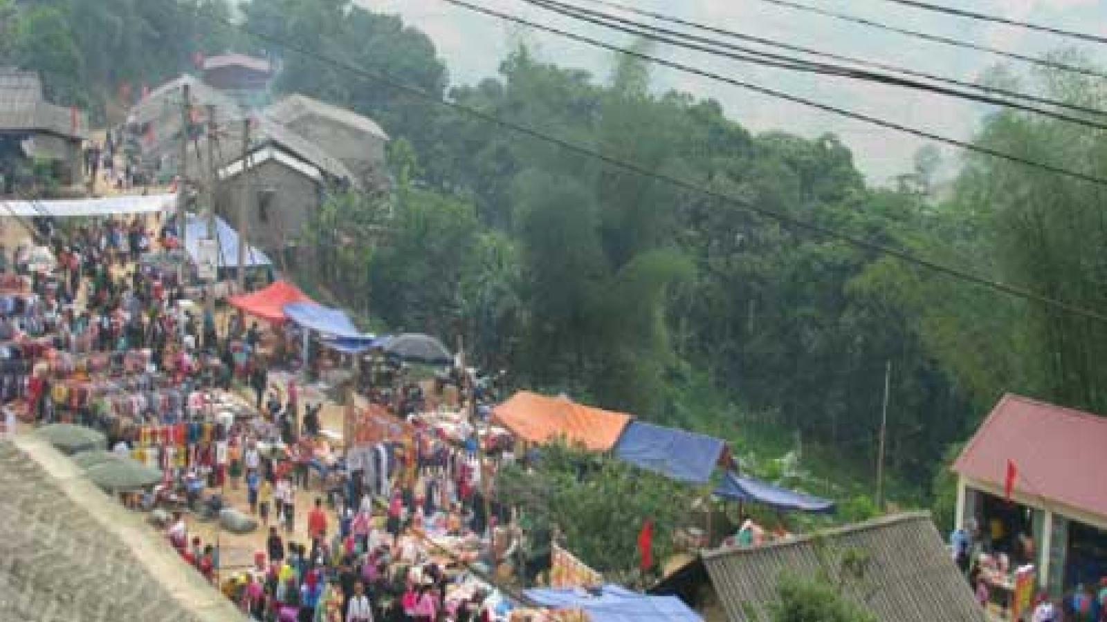 Khau Vai Love Market to attract visitors to Ha Giang