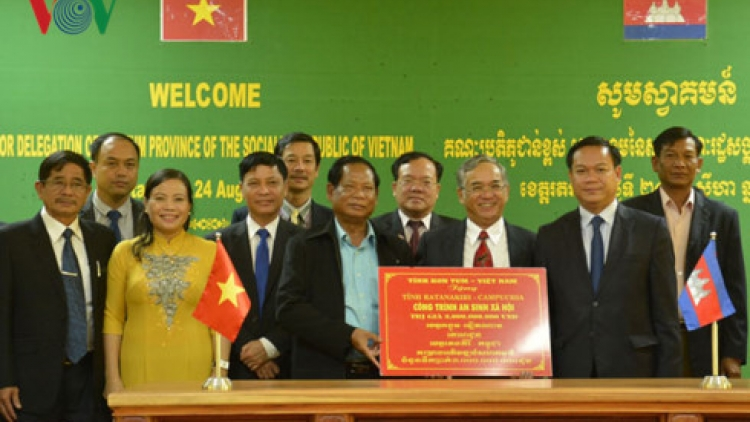 Kon Tum helps Cambodian province build health, education projects