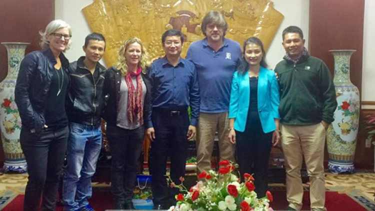 Kong: Skull Island producers inspect environment before leaving VN