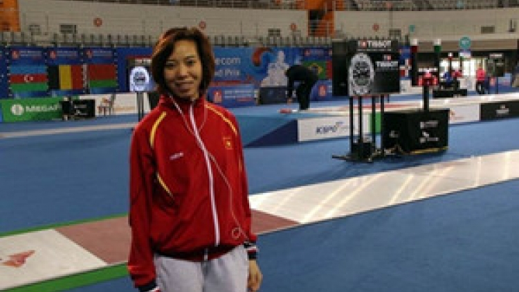 Fencer Le Dung qualifies for 2016 Olympics