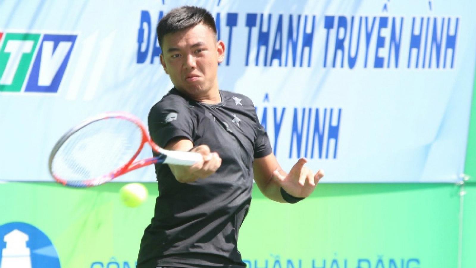 Hoang Nam beats Thanh Trung at Vietnam F4 Futures
