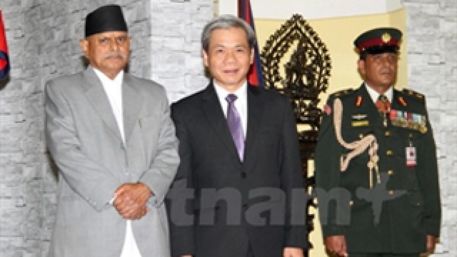 Vietnam treasures ties with Nepal