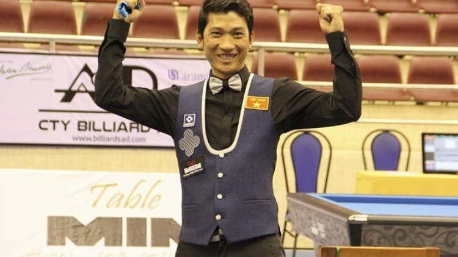 Ngo Dinh Nai retains championship at Asian carom billiards event